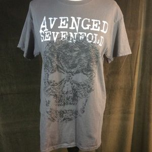 Other - Avenged Sevenfold tee shirt with skull